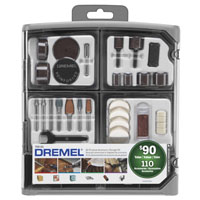 TOOL RTRY KIT A/P ACCES 110PC