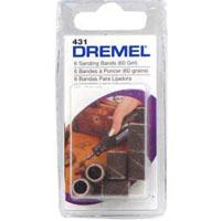 Dremel Bosch Sanding Band, For Use With Dremel ZW77000 2-Speed Cordless Grinder, Aluminum Oxide