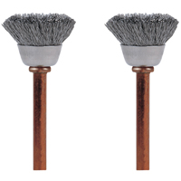 BRUSH STAINLESS STEEL 1/2IN