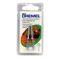 Dremel 453 Precision Ground Sharpening Stone, 5/32 in Dia, 1/8 in Shank