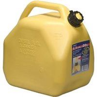 Scepter 7649 Jerry Gas Can, 5.3 gal, Self-Venting, Polyethylene, Yellow