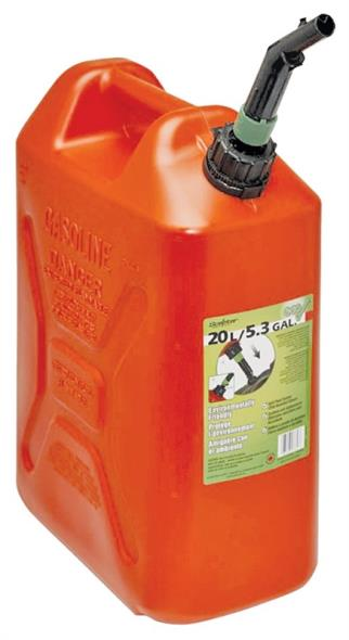CAN GAS 20L 13X7-3/4X18-1/2IN