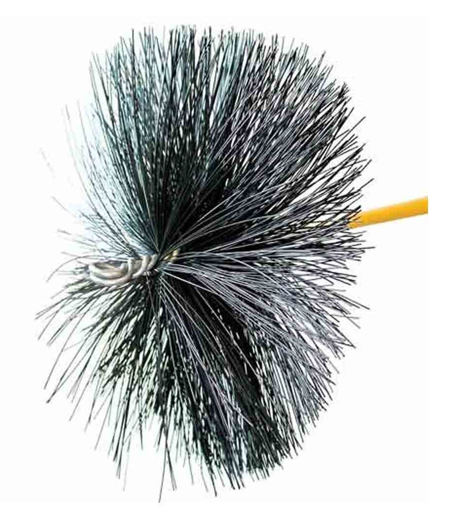 "24"" Round Duct Brush"