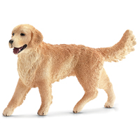 FIGURINE GOLDEN RETRIEVER FEM