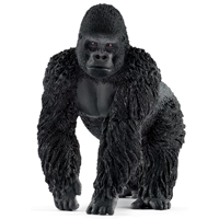 FIGURINE GORILLA MALE