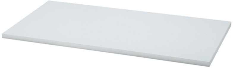 7313-1448-11 48 x 14 White Wood Shelf