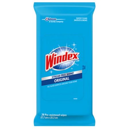 WIPES GLASS WINDEX 38 COUNT
