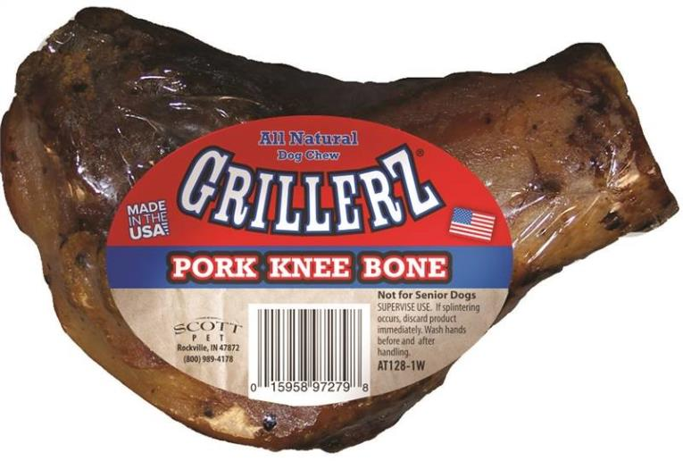 Grillerz AT128-1W Smoked Pork Knee Case, Bacon, Chicken and Roasted
