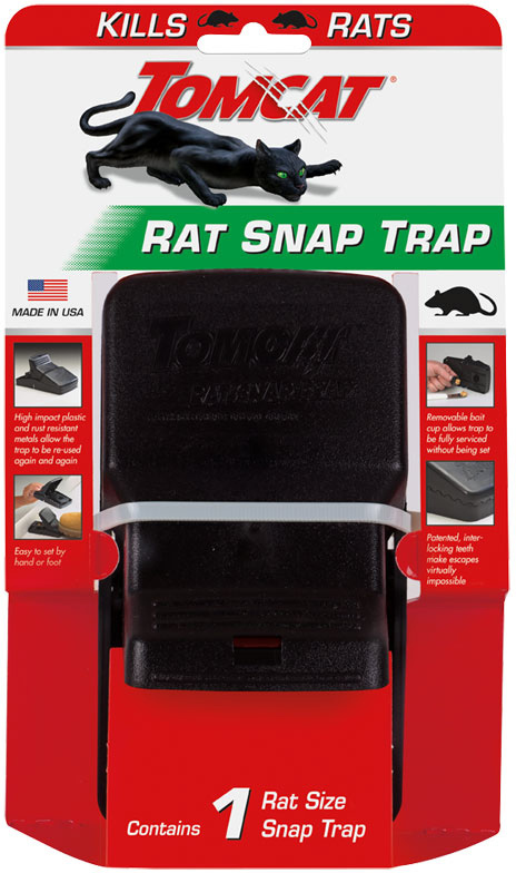 TRAP SNAP RAT INTLCKNG JAW 1PK