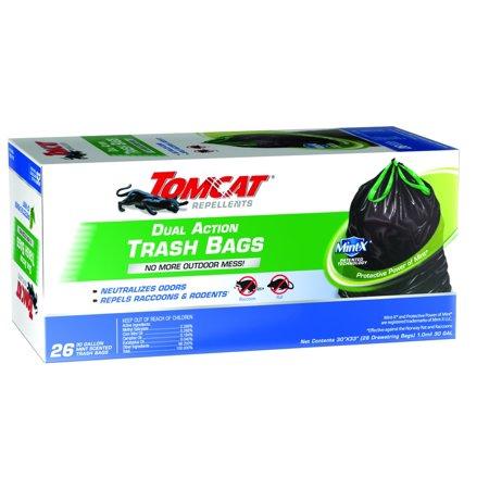BAG TRASH DUAL ACTN 26CT 30GAL