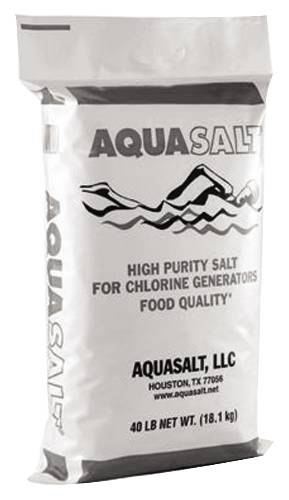 AQUA SALT POOL SALT 40 LB BAG