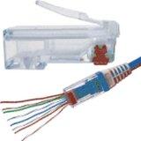 SCP 100 EZ-RJ45 CAT6 Crimp Plugs