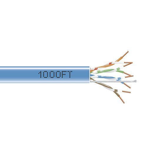 SCP CAT5E 350 MHz 24 AWG 1000FT White