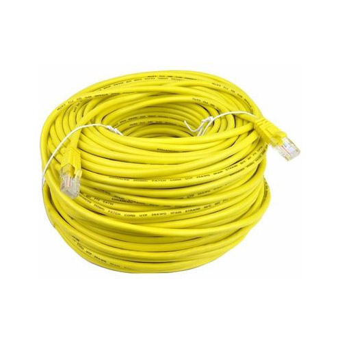 SCP CAT5E 350 MHz 24 AWG 1000FT Yellow