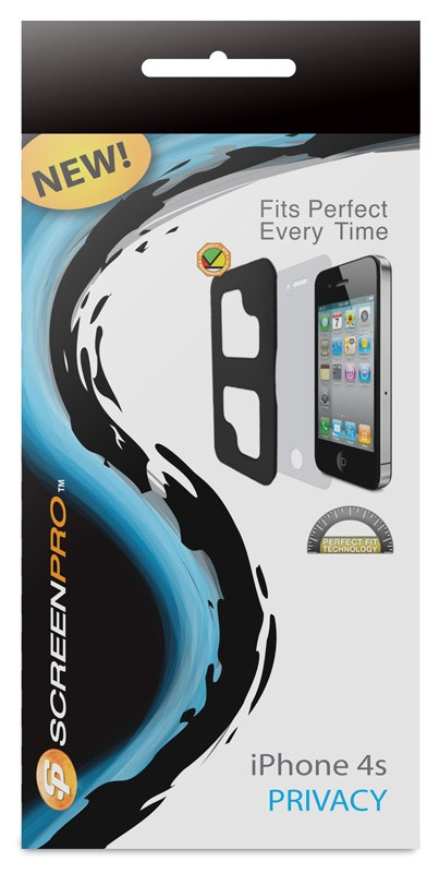 SCREENPRO SP14P SCREEN PROTECTOR PRIVACY GUARD FOR IPHONE4&4
