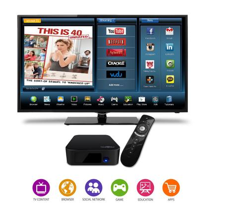 SUNGALE STB378 SET TOP SMART TV BOX WITH INTERNET STREAMING