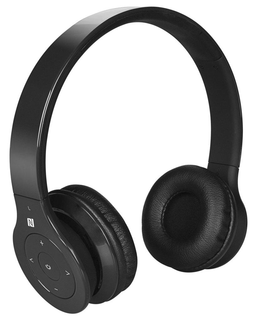 ALPHA DIGITAL BH-530-B BLACK BLUETOOTH HEADPHONE WITH BUILTIN