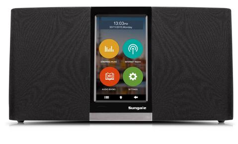 SUNGALE KWS433 WIFI INTERNET RADIO WITH TOUCHSCREEN OPERATION