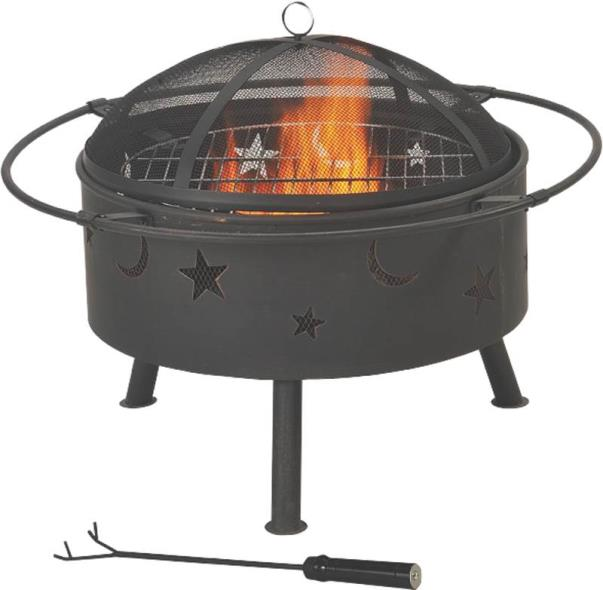 FIREPIT OUTDOOR ROUND 32 IN