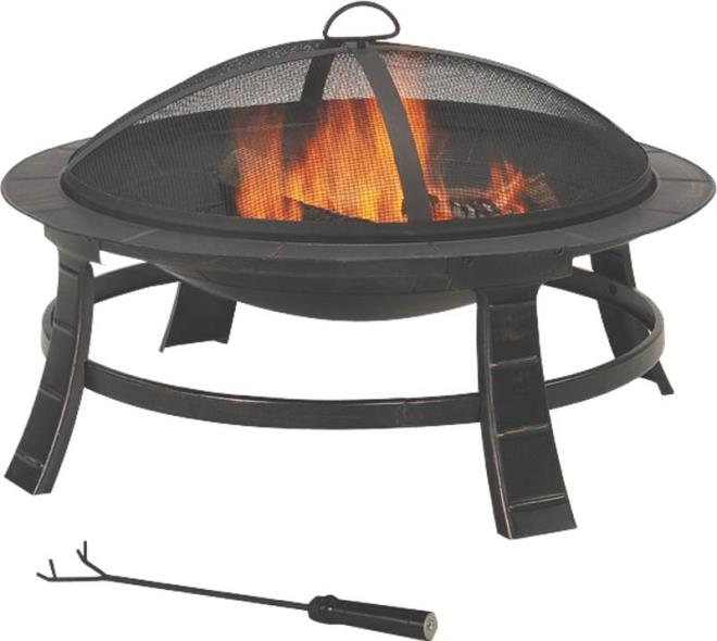 FIREPIT OUTDOOR ROUND 30 IN