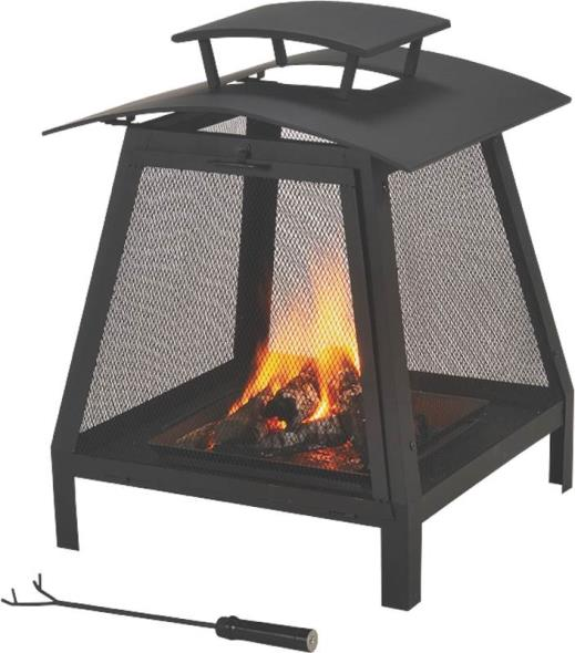 FIREPLACE OUTDOOR 21-3/4 IN