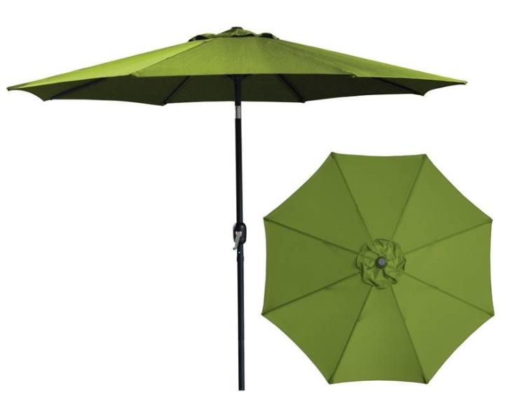 UMBRELLA MARKET STL 9FT OLIVE