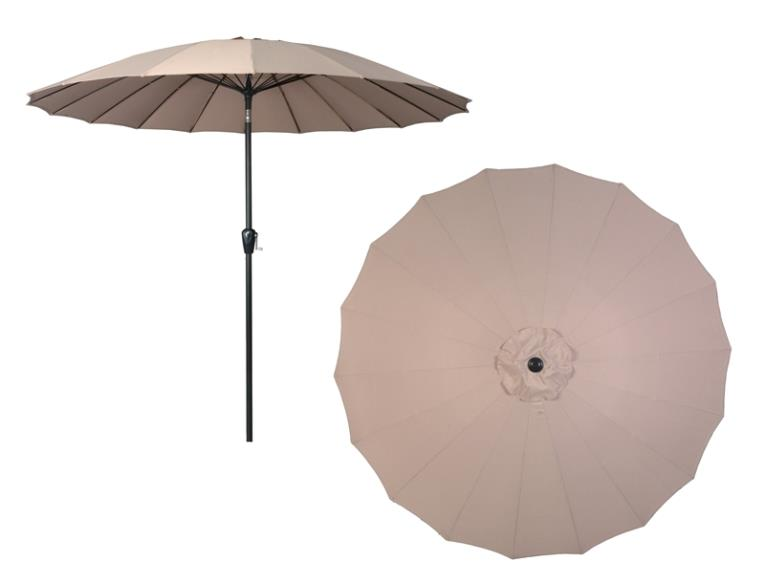 UMBRELLA WD-RESIS ALUM TPE 9FT