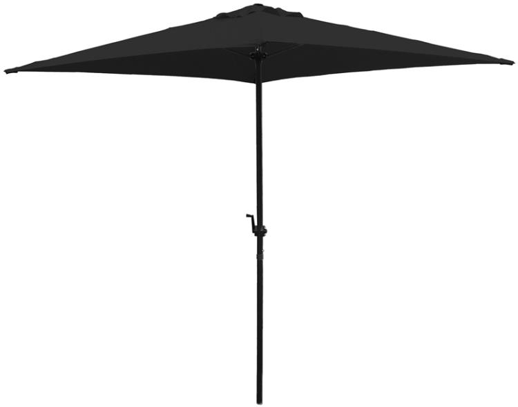 UMBRELLA BLACK 6.5FT