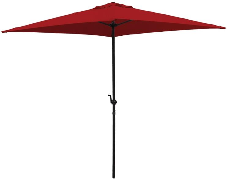 UMBRELLA RED 6.5FT