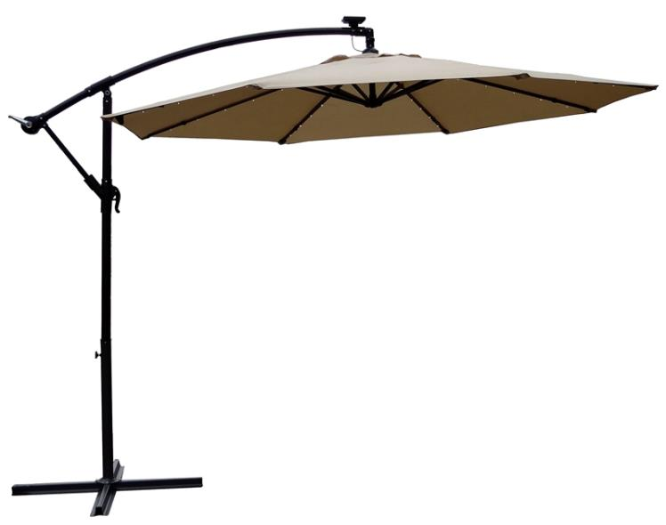 UMBRELLA OFFST SOLAR TPE 10FT