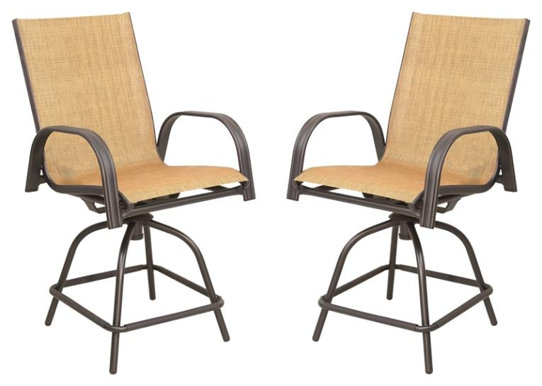 CHAIRS SWIVEL BALCONY 2PC