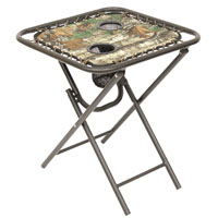 TABLE BNGE FOLD REALTREE 18IN