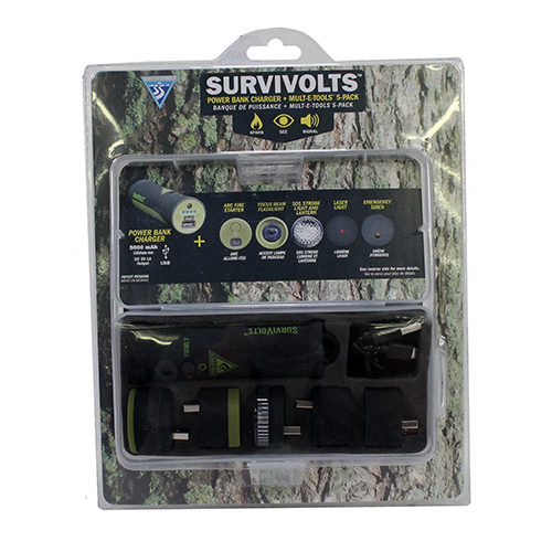 Seattle Sports SurviVolts Powerbank/ Mult-E-