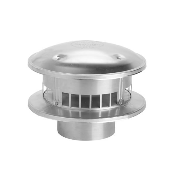 "106800 - 6RV-RT 6"" Gas Vent Top Round"