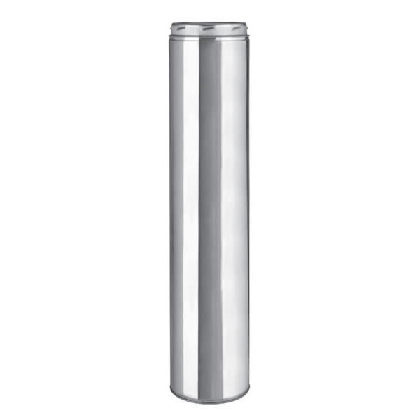 """14"""" Selkirk Insulated Stainless Steel Ultra-Temp 36"""" Chimney Length - 214036U"""