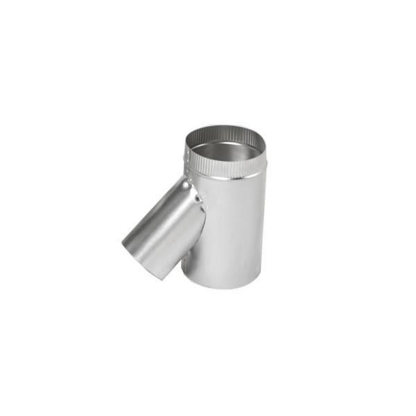"5.5"" Selkirk Flexi-liner Wye With 3"" Leg, Aluminum"