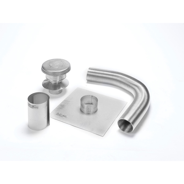"3"" X 15' Selkirk Gas Relining Flexi-liner Kit, Aluminum"