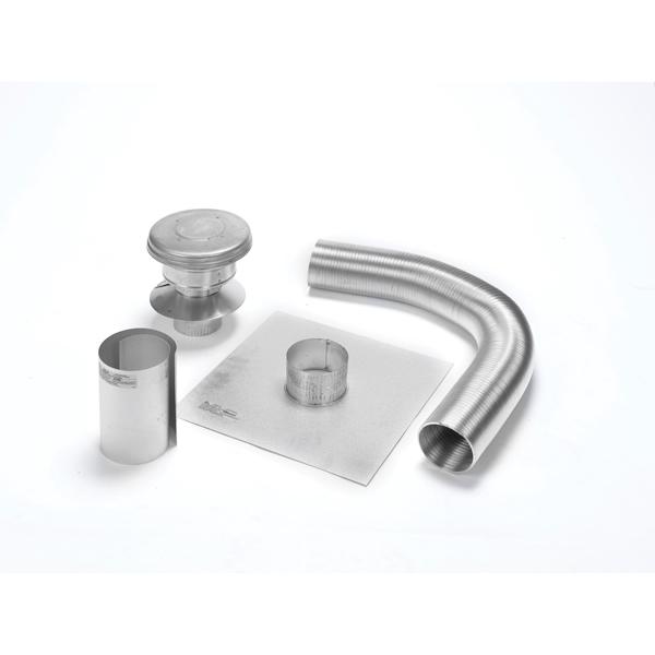 "4"" X 25' Selkirk Gas Relining Flexi-liner Kit, Aluminum"