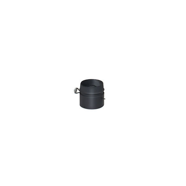 """8"""" Model DSP Double-Wall Stovepipe Damper Kit"""