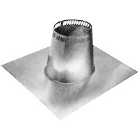 Selkirk A 206815 Adjustable Roof Flashing, 21 in W x 24-3/4 in L