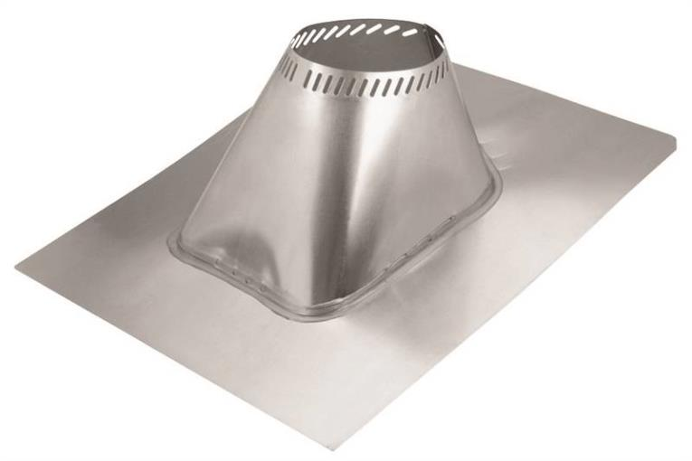 Selkirk A 208825 Adjustable Roof Flashing, 27 in W x 31-7/8 in L
