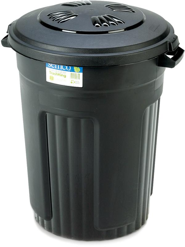 35P 32 GAL. TRASH CAN