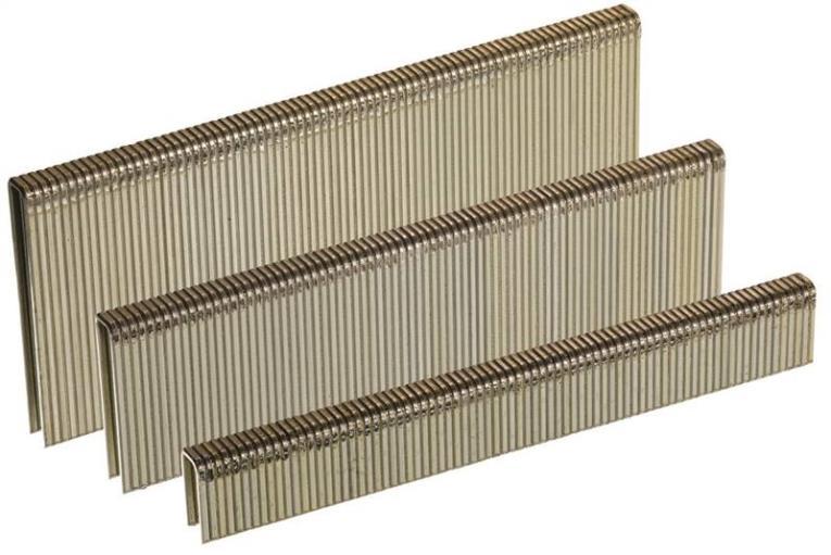 Senco A801259 Medium Narrow Wire Staple, 1/4 in, 1-1/4 in Leg, 18 ga