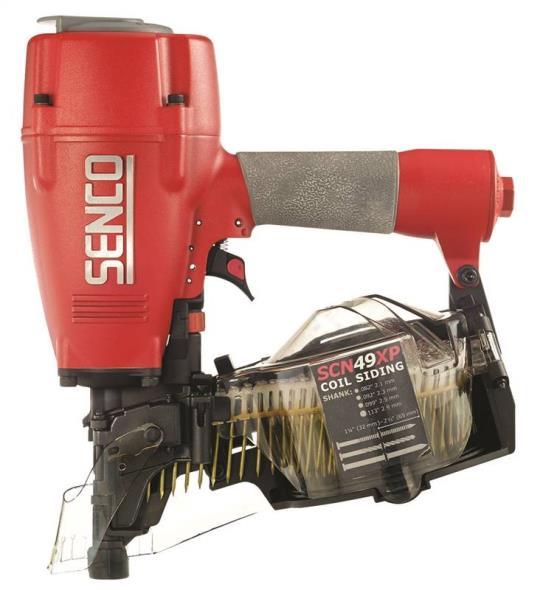 Senco 5J0001N Lightweight Siding Nailer, 250 - 375 Nails, 1-1/4 - 2-1/2 in, 70 - 120 psi