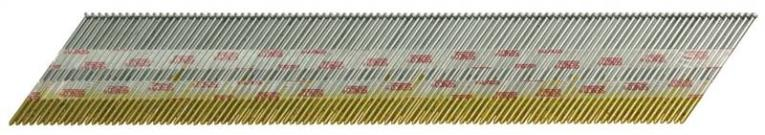 Senco A302509 Collated Finish Nail, 0.072 in x 2-1/2 in, 34 deg, Steel