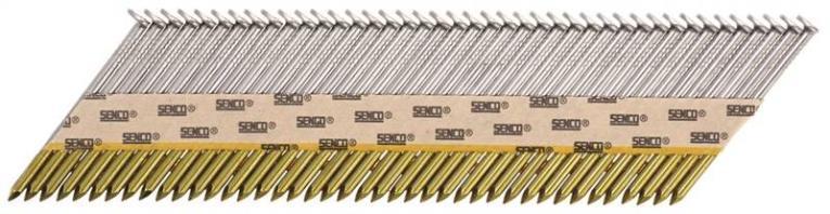 Senco G524APBX Stick Collated Nail, 2-3/8 in, 34 deg