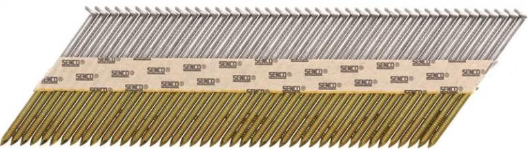 Senco GE24APBX Stick Collated Nail, 2-3/8 in, 34 deg