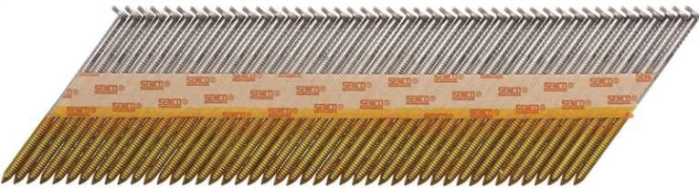Senco KC27ASBX Stick Collated Nail, 3 in, 34 deg