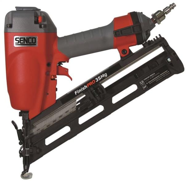FinishPro35MG 6G0001N Angled Finish Nailer, 110 Nails, 1-1/4 - 2-1/2 in, 70 - 120 psi