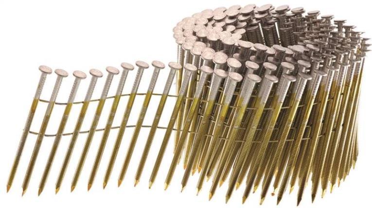 Senco HL27ASBF Coil Collated Framing Nail, 3 in